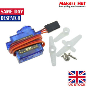 Micro Servo SG90 Kit for RC Robot Helicopter Airplane Car Boat Control