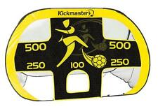 New Kickmaster Quick Up Goal And Target Shot Pop Up Portable Football 2 In 1