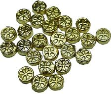 Dollhouse Miniature Set of 25 Dubloon Gold Coins by Bright deLights
