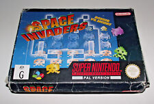 Space Invaders Super Nintendo SNES Boxed PAL *Complete*