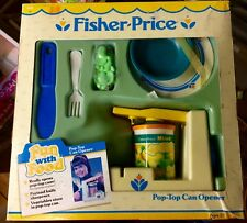 VTG Fisher Price Fun With Food CAN OPENER Old Stock New In Box Play Food