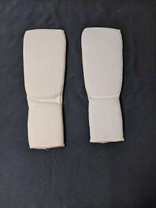 Shin instep Leg & Foot Protectors for Karate MMA kickboxing Taekwondo Guard | S