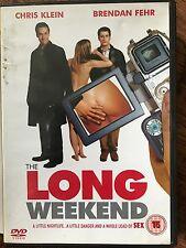 Chris Klein Brendan Fehr LONG WEEKEND ~ 2005 Comedy UK DVD