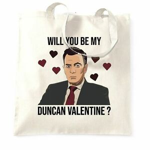 Valentine's Tote Bag Be My Duncan Valentine Dragons Den Pun