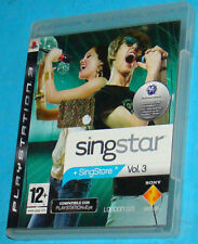 Singstar Vol. 3 - Sony Playstation 3 PS3 - PAL