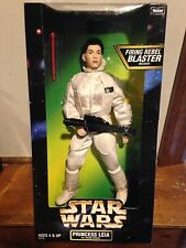 "Star Wars Action Collection Princess Leia 12"" in Hoth Gear  MISB Carrie Fisher"