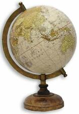"Globe World Map Antique Globe Beautiful Table Decor Home Office Globe 8"" Ball"
