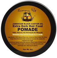 Sunny Isle Jamaican Black Castor Oil Extra Dark Hair Food Pomade 4 oz (2 pack)