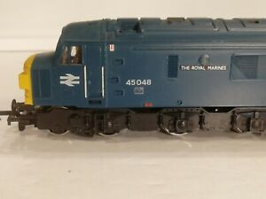 Mainline Class 45 Peak, 45048 'Royal Marines', BR Rail Blue with lights Boxed