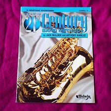 Eb Baritone Saxophone, Belwin 21st Century Band Method, Level 1
