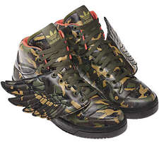 ADIDAS JEREMY SCOTT JS WINGS CAMO Sz.38 2/3 UK5,5 money usa 2.0 flag G50726 gold