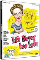 It's Never Too Late DVD (2016) Phyllis Calvert, McCarthy (DIR) cert U ***NEW***