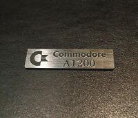 Commodore Amiga 1200 Label / Logo / Sticker / Badge 49x13 mm [263]
