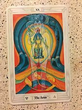 Aleister Crowley Thoth Tarot Small Deck THE AEON (Individual Card)