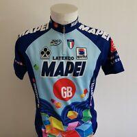 maillot de cyclisme MAPEI vintage taille xxl