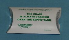 video store promo promotional LIGHTNING VIDEO plant seeds packet