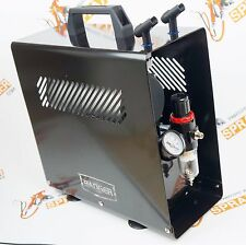 Badger TC910 Aspire Pro Air Compressor w/ 1 Gallon Tank and 2 Airbrush holders