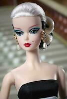 "Breathtaking ""Black and White Forever"" Silkstone Barbie Dressed Doll Nrfb !!"