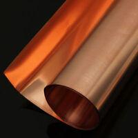 Kupferblech Platten 99,9% Reines Kupferblech 0,1/0,2/0,5 Kupferfolie