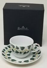 Rosenthal German Porcelain Magic Garden  Espresso Cup and Saucer Foliage