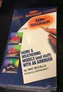 Badger Air Brush co #BV-011. by Mac McCalla VIDEO