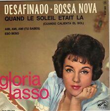 GLORIA LASSO DESAFINDO BOSSA NOVA FRENCH ORIG EP PAUL PIOT