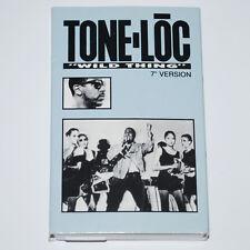 Tone Loc Wild Thing b/w Loc'ed After Dark Cassette Rap Tapes '88 Delicious Vinyl