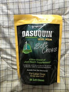 NUTRAMAX DASUQUIN with MSM Joint Health Sup for LARGE Dogs, 60 LBS and OVER 84
