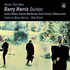 Barry Harris: Newer Than New & Listen To Barry Harris... Solo Piano 2 Lps On 1
