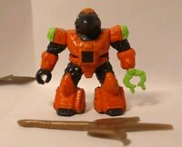 BATTLE BEASTS #17 Hardtop Tortoise With Weapon and working Rub (Fire)