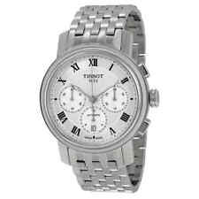 Tissot Bridgeport Automatic Chronograph Silver Dial Stainless Steel Men's Watch