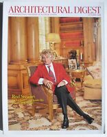 ROD STEWART October 2004 ARCHITECTURAL DIGEST Magazine