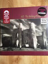 U2 - THE UNFORGETTABLE FIRE RED WINE VINYL LP - LTD HMV EDITION - SEALED