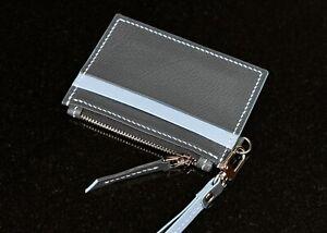 Credit Card Cases Handmade Leather Alran. Zipper CardHolder Coin Pocket
