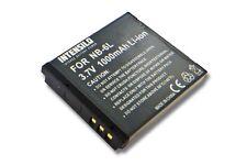 BATTERIE 1000mAh POUR Canon Powershot SX710HS, SX710 HS ACCU