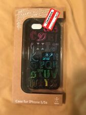 Belkin Tanamachi Goods Cell Phone Case for iPhone 5/5S Black Alphabet ABCs