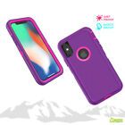 Purple Tradesman Hard Heavy Duty Case Cover For iPhone X / iPhone 10