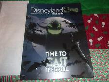 2017 Disneyland Line HALLOWEEN TIME OOGIE BOOGIE Embossed Cover - MINT!