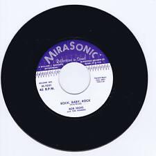 Bob Hicks-Rock Baby Rock/bebé sentada 'todo el tiempo-Primitivo Rockabilly