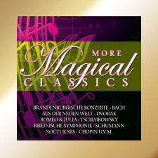 CD More Magical Classics von Bach, Schumann, Chopin uva 10CDs