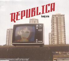 REPUBLICA - Ready To Go (UK 4 Trk 1997 CD Single)