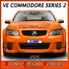 VE COMMODORE SERIES 2 SSV / CALAIS HEADLIGHTS BLACK PROJECTOR STYLE NEW PAIR