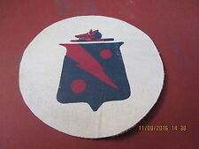 WWII USN RED RIPPERS VF-4 FIGHTING FOUR  SQUADRON  JACKET  PATCH