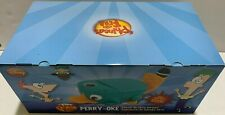 new Disney Perry The Platypus Karaoke Cd Player w/ Microphone Phineas & Ferb