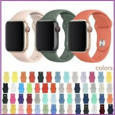 Correa silicona Apple Watch para iWatch series 1/2/3/4/5/6 (42-44 mm)