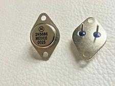 10 Pieces   2N5686 Motorola NPN Power AMP Transistors 300W   FREE US Shipping