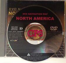 2001 - 2003 TOYOTA  LANDCRUISER Genuine Factory Navigation DVD Gen 3
