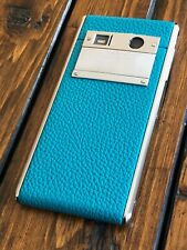 Genuine Vertu Aster Teal Calf Luxury Phone Android Super RARE a must have!