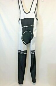 Jollywear Cycling Bib Tights in White - Size S - Made in Italy