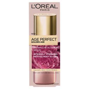 Loreal De Age Perfect Golden Age Serum 125ml Hydrates Glow Mature Dull Skin
